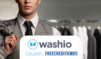 Get Washio Coupon Code: Use promo code FREECREDITKM05 for $10 off your first on-demand dry cleaning service
