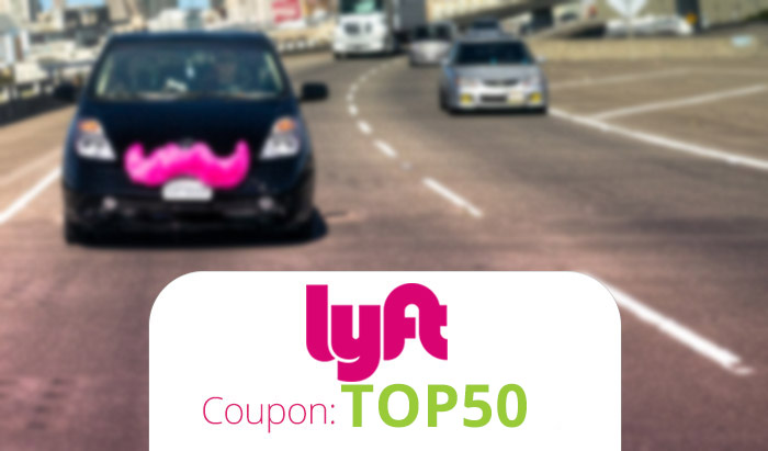 Lyft Promo Code 2016: Get $50 FREE credit with code TOP50