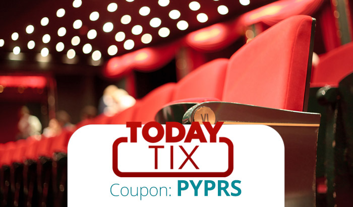 TodayTix Promo Code: Get $20 off your on-demand broadway tickets with coupon code PYPRS