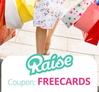 Complete list of all Raise Promo Codes for November guaranteed! Receive $5 off with this Discount Code, Take 1% off Select Gift Cards at Raise.