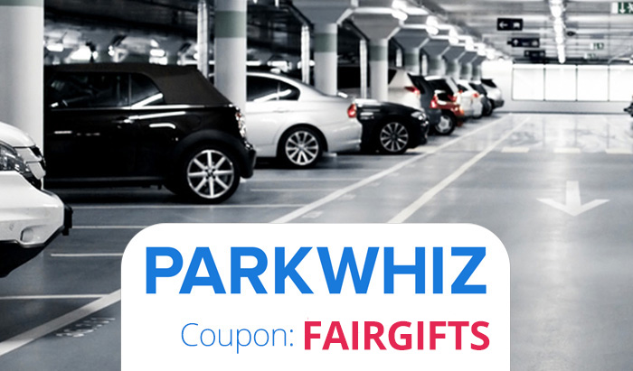 ParkWhiz Promo code deal : Get 10% off with ParkWhiz Coupon FAIRGIFTS