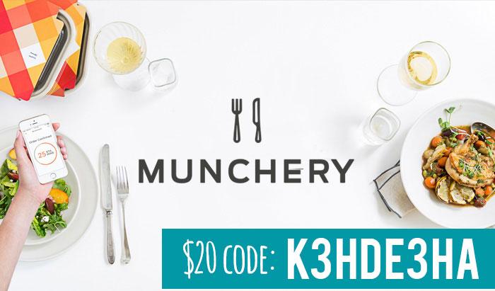 Munchery coupon code