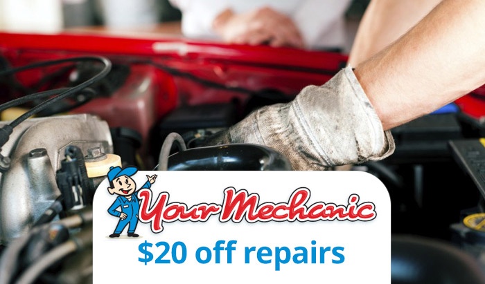 YourMechanic Promo Code : Get $20 off repairs