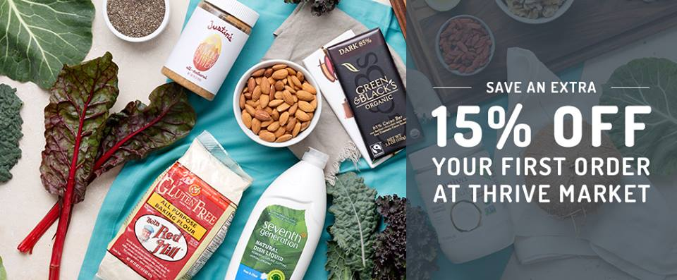 Thrive Market Coupon Code : How to get 15% off, plus a Thrive Market Review