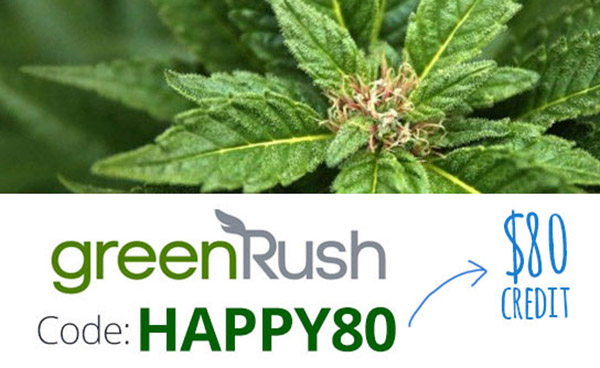 Green Rush Promo Code: Use coupon HAPPY80 for $80 off