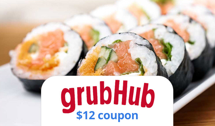 GrubHub Coupon 2016 : Get $12 off with promo code link