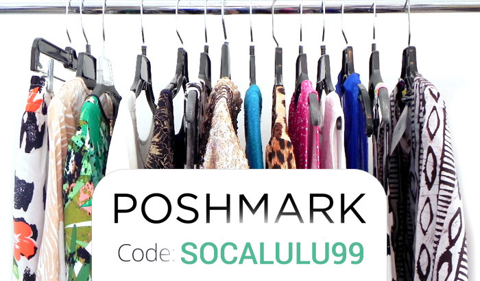 Poshmark Coupon Code : Use SOCALULU99 for $5 off at Poshmark