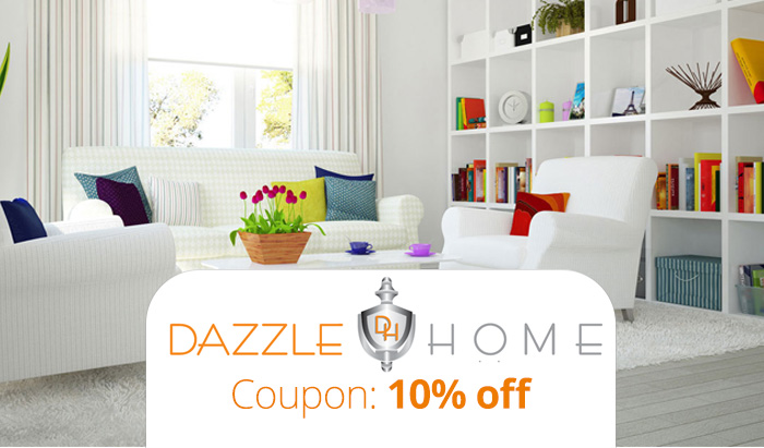 Dazzle Home Coupon Code : Get 10% off your entire order