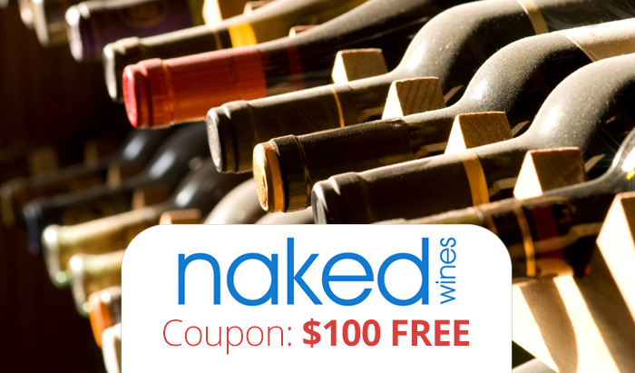Naked Wines Coupon Code : $100 FREE plus a Naked Wines Review