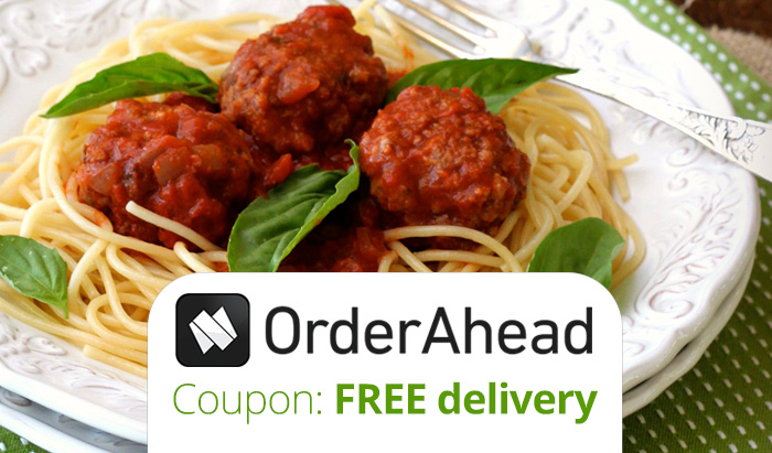 OrderAhead Promo Code 2016 : Get FREE Orderahead delivery + an Orderahead review