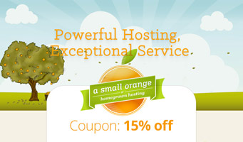 A Small Orange Promo Code deal : Get 15% off your first month of hosting, plus read reviews