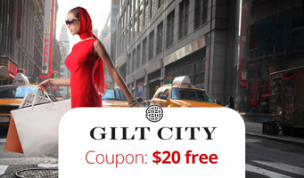 Gilt City Promo Code deal : Get $20 off all deals with this coupons link