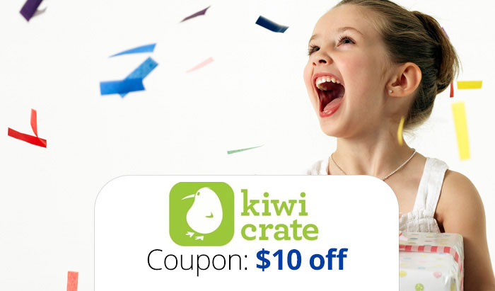 Kiwi Crate Coupon Code: Get $10 off with promo code plus read reviews
