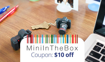 MiniInTheBox Coupon Code : Get $10 off, plus a review of Mini In the Box