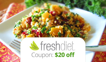 The Fresh Diet Promo Code : Get $20 off plus read reviews