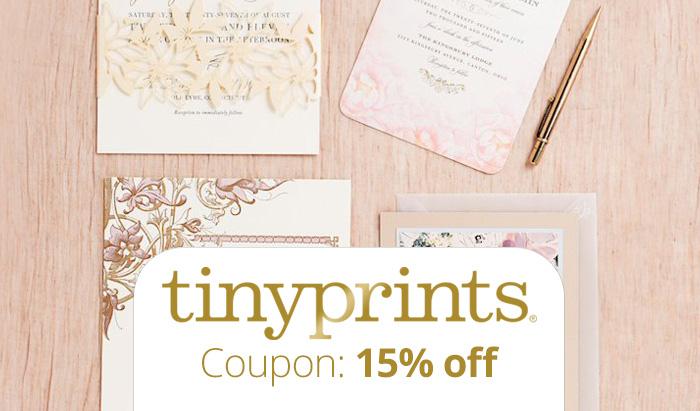 Tinyprints promotion code