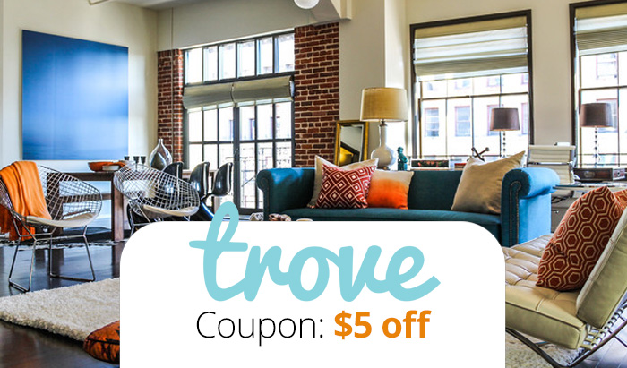 Trove Market Coupon Code 2016 : Get $5 free, plus reviews