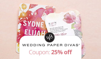 Wedding Paper Divas Coupon Code : Get 25% off with custom promo code, plus read reviews