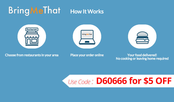 Use BringMeThat Promo Code D60666 to get $5 off