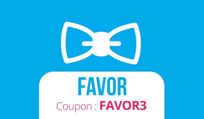 Use Favor Delivery Promo Code FAVOR3 to get $5 off the app