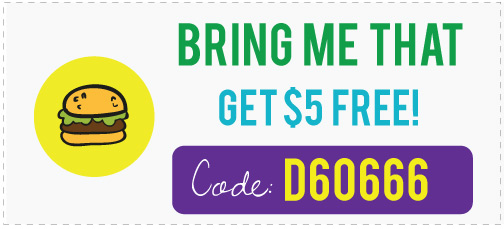 Bring Me That Promo Code: Get $5 free with the discount coupon D60666