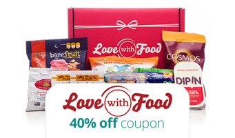 Love With Food Promo Code : Get 40% off your first box, plus read our reviews!