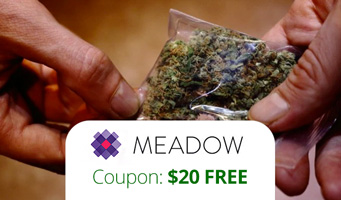 Meadow Weed Delivery: Get $20 free at GetMeadow with coupon