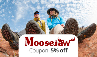 Moosejaw Coupon Code : Get 5% off, plus read a Moosejaw review!
