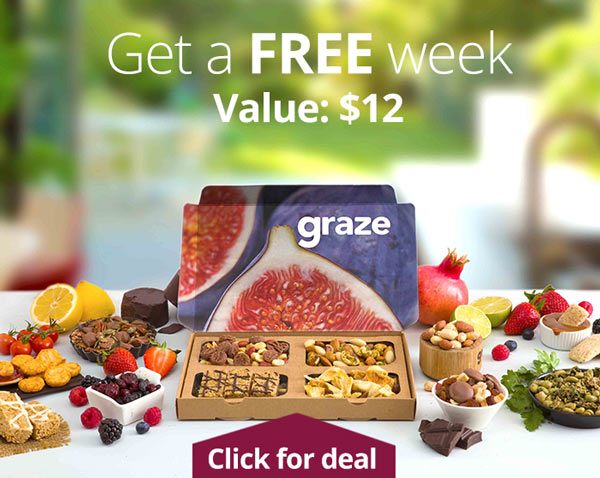Graze Promo Code: Get a free week of Graze.com, plus read Graze reviews!