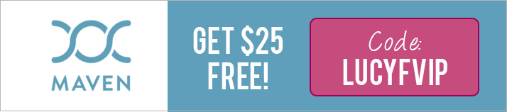 Maven Promo Code: Use LUCYFVIP for $25 off the Maven Clinic App