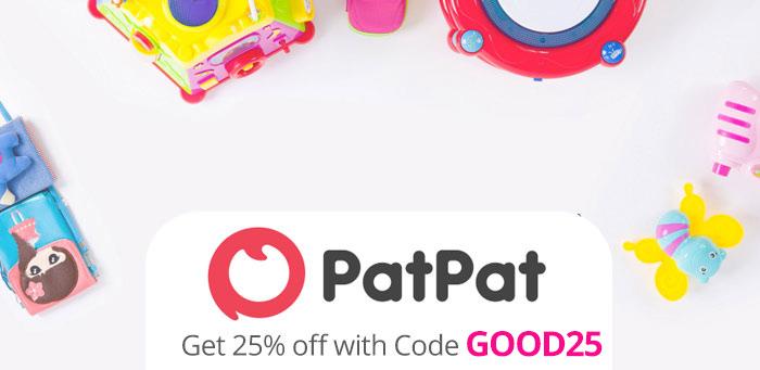 PatPat Promo Code: Get 25% off with Coupon Code GOOD25