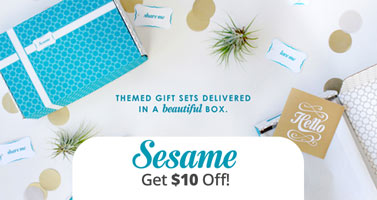 Sesame Promo Code! Get $10 off your next box and read our Sesame Review!