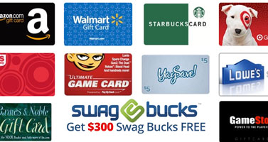 Swag Bucks Codes: Use our codes and get $300 Swagbucks and read our review!