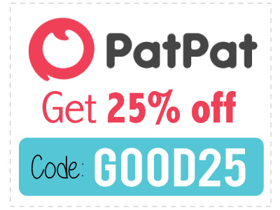 PatPat Promo Code 2017: Use GOOD25 for 25% off!