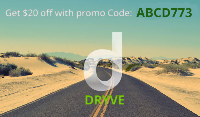Dryve Promo Code : ABCD773 get $20 off and read our Dryve On Demand Car Care Review!