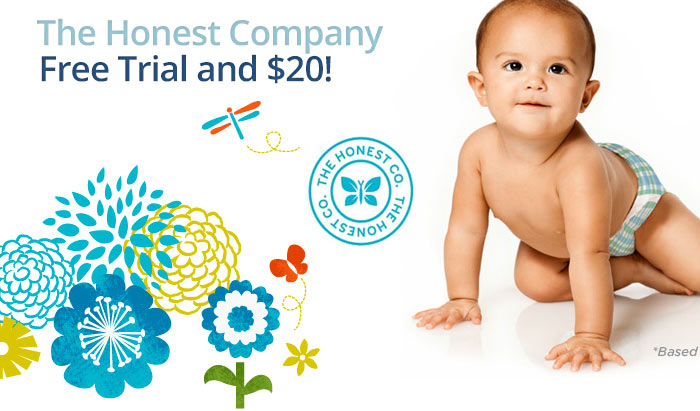 Honest Company Promo Code: Get a Free Trail and $20 off plus read our review! @Honest