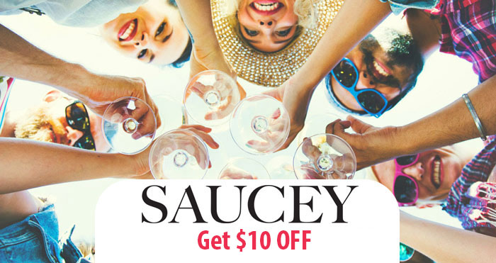Saucey App Promo Code: Get $10 off your next order and Read our Saucey App Review