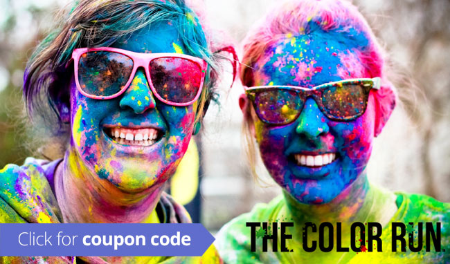 Coupon code color run
