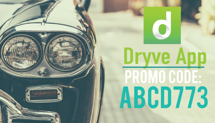 Dryve Promo Code: Get $20 off with the code ABCD773.
