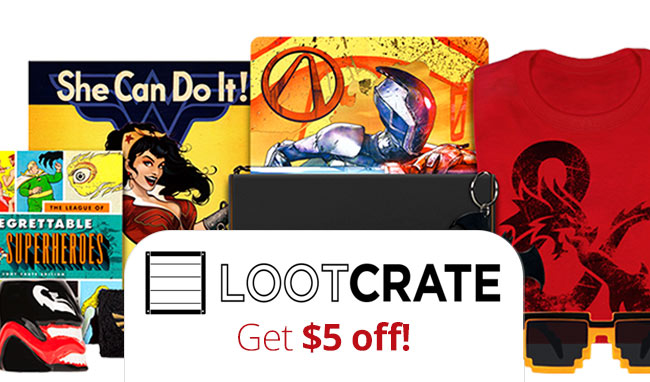 Loot crate coupon code 2018