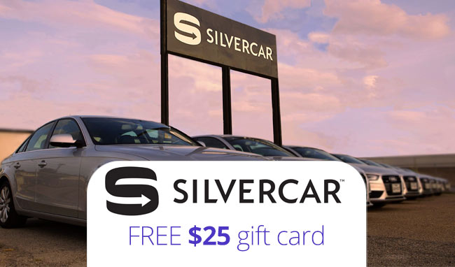 Silvercar Promo Code Get A 25 Gift Card With Code Omrxjaqv