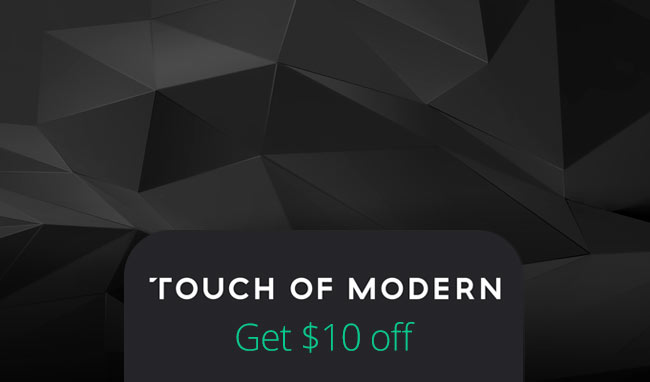 Touch of Modern is an ecommerce website for men's fashion, accessories, gadgets and other lifestyle products. Touch of Modern is for members-only, so make sure to sign up online to check out their unique collection. Touch of Modern carries really great holiday gifts for men, as well.5/5(1).