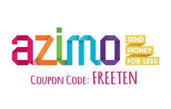 Azimo Promotional Code: Use coupon code FREETEN, plus read our Azimo Reviews!