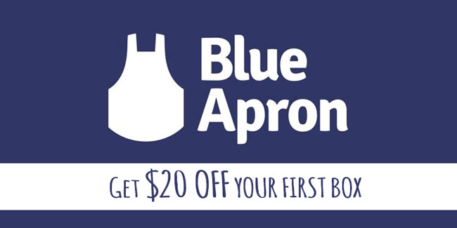 Blue Apron Referral: Get $20 off with this BlueApron Coupon Code