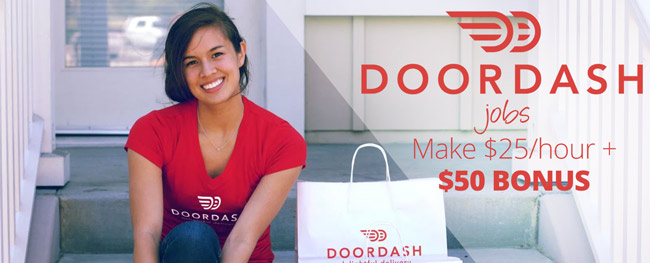Door Dash Jobs : Get a $50 bonus with this DoorDash Referral link!