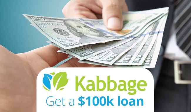 How Does Kabbage Work? Kabbage Small Business Loans up to $100k!