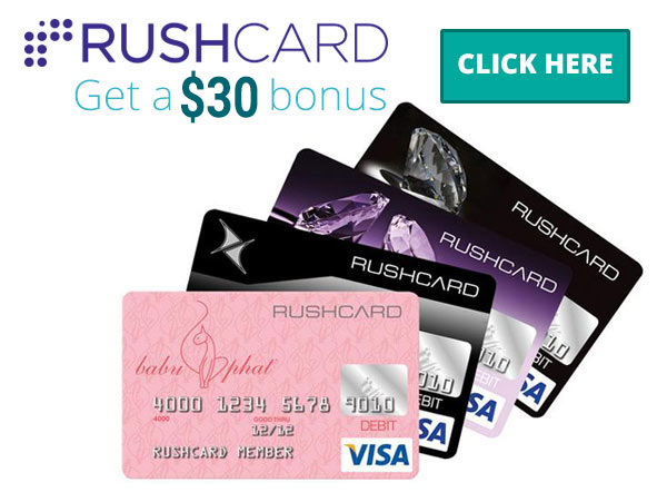 Top-voted Rush Card promo code for sitewide discount (limited time) Free $30 when you use referral code when applying for Rush Card. Must be done when applying online or by phone. Load $10 at Western Union and your $30 is automatically applied to your card/5(19).