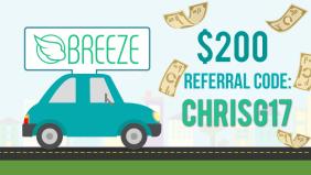 Breeze Car Rental For Uber