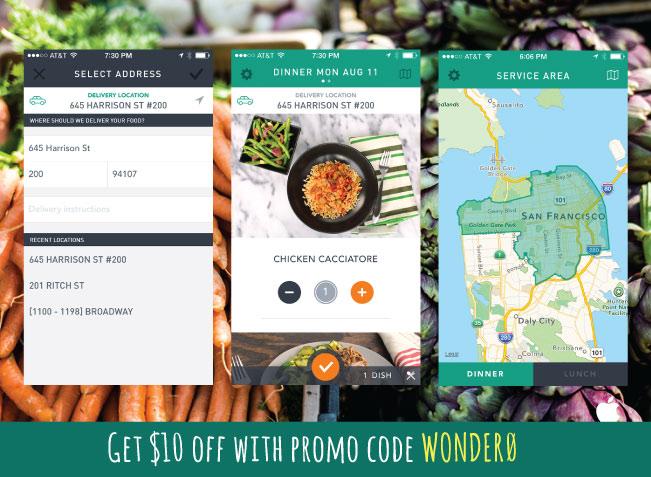 SPrig Promo Code Wonder0 for a Sprig Free Meal