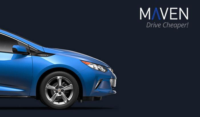 maven car promo code a comparison with similar company zipcar. Black Bedroom Furniture Sets. Home Design Ideas